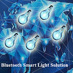 Bluetooth Mesh Networking Smart Lamp Control System